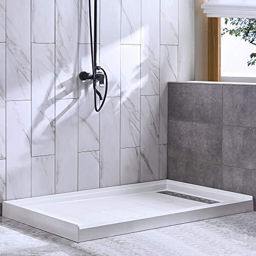 WOODBRIDGE SBR4832-1000 Solid Surface Shower Base