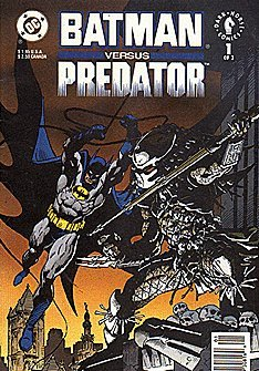 Batman vs Predator (1991, 1st series) #1 NEWS