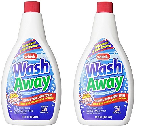 Whink Wash Away Stain Remover, 16 Fl Oz, 2 Pack