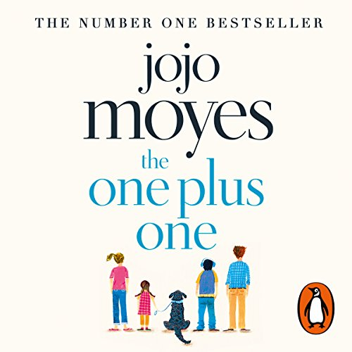 The One Plus One audiobook cover art