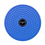 LISSO Twisting Waist Disc, Body Shaping Twisting Waist Machine Rotating Board Female Twister Exercise Sports Equipment Aerobic Exercise Foot Massage (Blue)