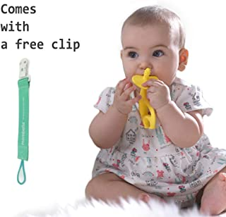 Safety 1st Ellie Elephant Baby Teether by Mombella (Yellow)