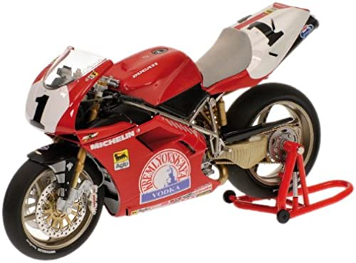 Minichamps 122951201 - Ducati 916 - Carl Fogarty, Team Corse Virginio fürari, Ma ab  1 12