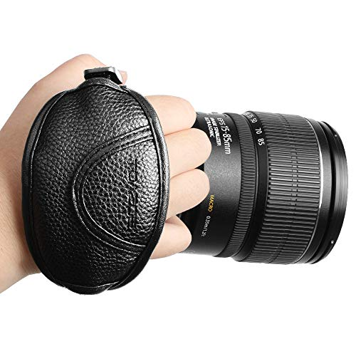 Camera Hand Strap - Rapid Fire Secure Grip Padded Wrist Strap Stabilizer by TOAZOE for DSLR and Mirrorless Cameras