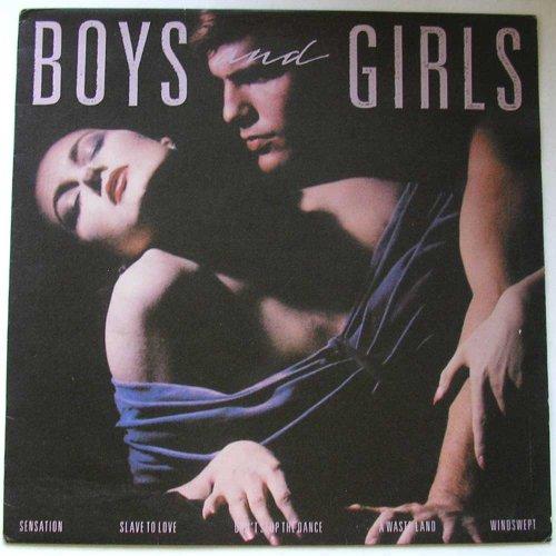 BOYS AND GIRLS VINYL LP 1985 BRYAN FERRY EG RECORDS[EGLP62]