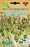 Germisem Biologico Mizuna Mix Micro-Greens Semi 10 g