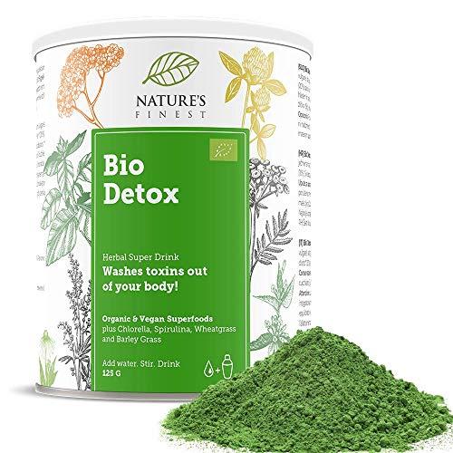 Bio-Detox-Superfood-Mix 125 g | Voll natürliche Bio-Mischung zur Entgiftung des Körpers | Vegan und vegetarisch