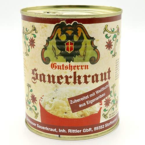 Gutsherren Sauerkraut / Schlosser Kraut / Dose 800g - Stoffenried