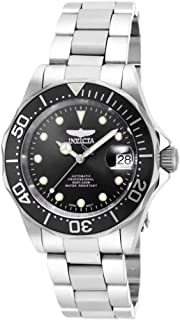Men's 17039 Pro Diver Stainless Steel Watch with Link Bracelet