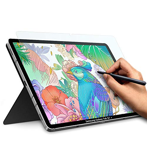 paperfeel Displayschutzfolie für Galaxy Tab S7 27,9 cm (11 Zoll) 2020, fühlt sich an wie auf Papier, blendfreie matte PET-Folie