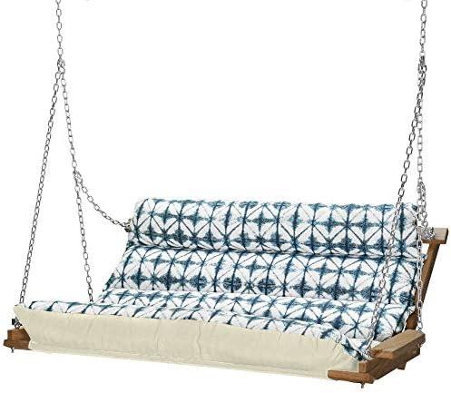 Nags Head Hammocks Midori Indigo Cumaru Cushioned Double Swing product image