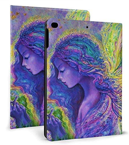 Beautiful Butterfly Elf Pu Leather Smart Case Auto Sleep/Wake Feature for Ipad Air 1/2 9.7' Case