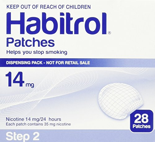 Habitrol Patches Stop Smoking Aid Patches - 28 Each (Step 2 - 14 Mg)