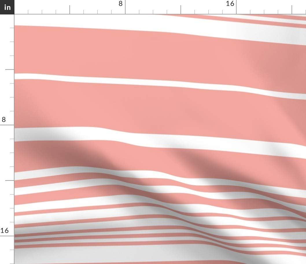 Colorful Strip Pattern Linen Fabric 60 Wide Per Yard