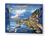 Schipper 609130802 Peinture par numéro sur Le thème de la mer pour Adultes avec Pinceau et Peinture Acrylique 40 x 50 cm