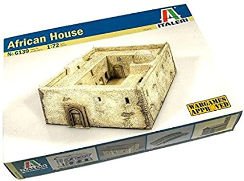 RCECHO& 174; ITALERI Military Model 1 72 Accessories African House Scale Hobby 6139 T6139 with 174; Full Version Apps Edition