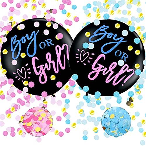 XINCHEN Reveal di Genere Palloncino 2 Pezzi 36'Gender Reveal Balloon Gender Reveal...