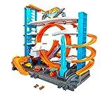 Hot Wheels Súper Megagaraje, garaje para coches de juguete (Mattel...