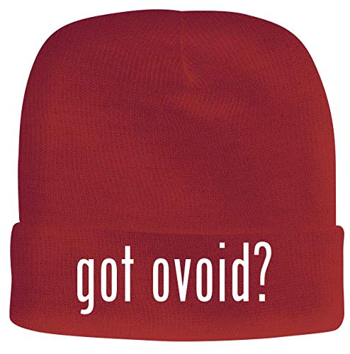 got Ovoid? - Men's Soft & Comfortable Beanie Hat Cap, Red, One Size