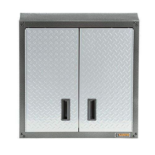 Gladiator Garage Wall Cabinet 28 in. x 28 in. x 12 in. Adjustable Shelf Steel