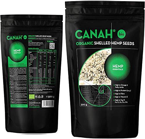 Semilla de cáñamo Canah … (500g BIO)