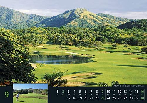 Golf 2018 – Sportkalender / Golfkalender international (49 x 34) - 6