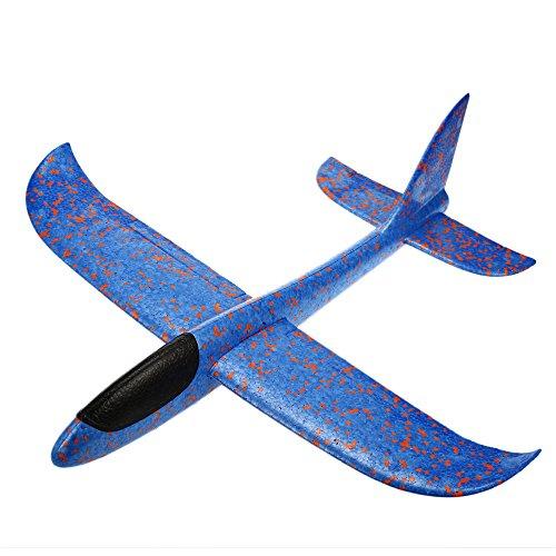 Hemore Aereo inerte della Schiuma dell'aliante di Lancio del Lancio della Mano di EPP Sport e Giochi all'aperto Giochi aquatici Blue