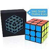 Cubo Cube Zauberwürfel 3x3 - inkl. Gratis Videokurs für Anfänger