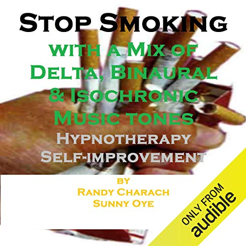 Stop Smoking - with a Mix of Delta Binaural Isochronic Tones cover art
