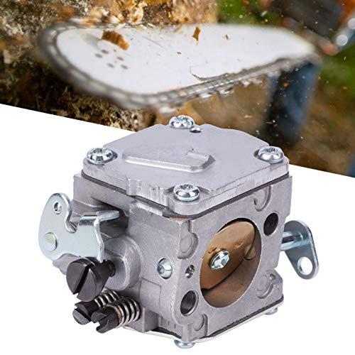 Kit de carburador de aluminio, carburador de repuesto para motosierra, carburador para HUSQVARNA 61/266/268 / 272XP con junta de buje de tubo de admisión