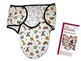 Lampiphant® + Summer Infant Original SwaddleMe® Pucksack, S/M, Dschungel