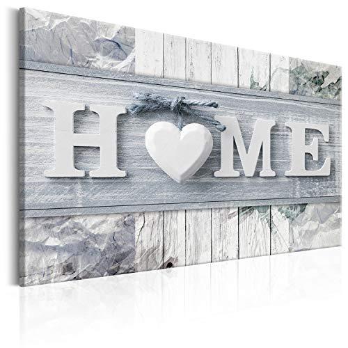 murando Cuadro en Lienzo 90x60 cm - Home 1 Parte Impresión en Material Tejido no Tejido Impresión Artística Imagen Gráfica Decoracion de Pared m-C-0244-b-c