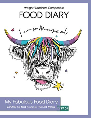Weight Watchers Compatible Food Diary - My Fabulous Food Diary - Everything...