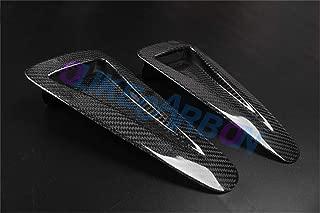 OLIKE for Nissan Skyline GTR35 GT-R R35 Real Carbon Fiber Hood Bonnet Scoops Vents Hood Air Vent