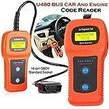 U480 CAN OBDII/EOBDII Bus/Engine Code Reader U480 Code Reader OBD2/OBDII Car or Truck Auto Diagnostic Engine Scanner U480 Memo Scanner