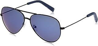 نظارة شمسية للرجال من نوتيكا، لون ازرق، 60 ملم، N4639SP