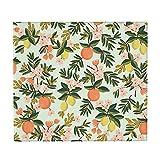 HBAUAJIA Alfombrilla de secado de platos con diseño floral...