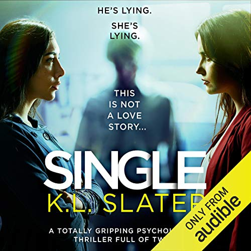 Single audiobook cover art