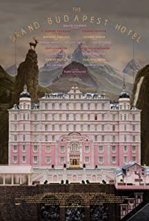 Grand Budapest Hotel Original Double Sided 27x40 inches Movie Poster