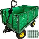TecTake Carretto Carrello a mano da trasporto - modelli differenti - (Tipo 10 | no. 401418)