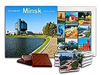 DA CHOCOLATEキャンディスーベニア ミンスク ベラルーシの首都チョコレートギフトセット13x13cm 1箱 (としょうかん)