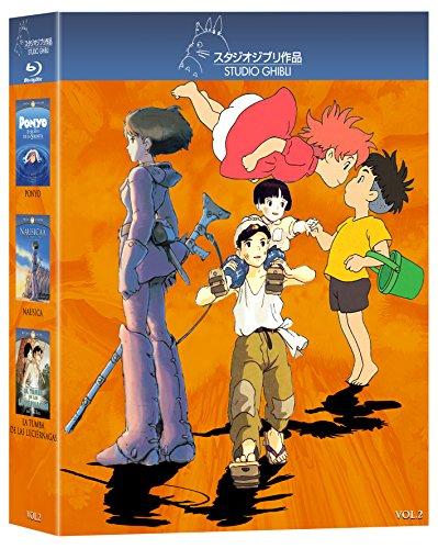 Paquete Studio Ghibli. Volumen 2 (Secreto de la Sirenita / Nausicaa / Tumba de las Luciernagas) [Blu-ray]