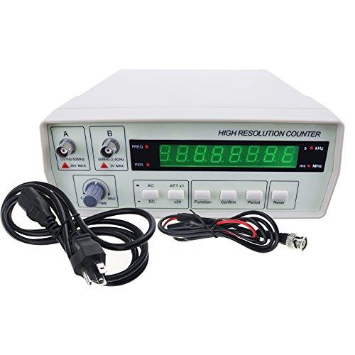 Radio High Frequenzzähler 0,01 Hz ~ 2.4GHz Professioneller Tester RF Meter Equal Präzision Messung