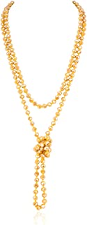 Best mustard yellow bead necklace Reviews