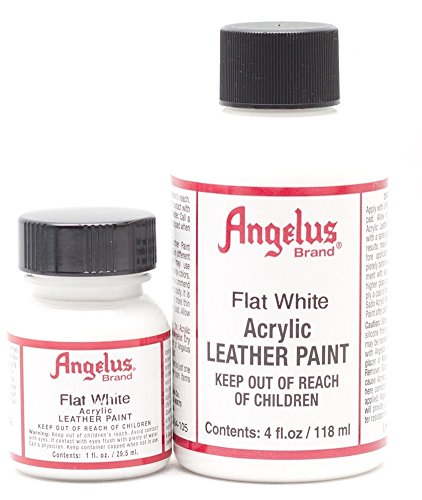 Angelus Lederfarbe Matt Weiß 29,5 ml