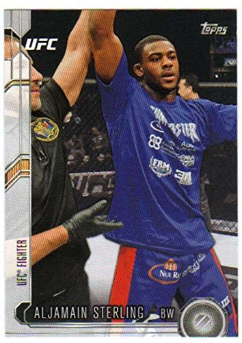 2015 Topps UFC Chronicles MMA #227 Aljamain Sterling Official Mixed Martial Arts Trading Card