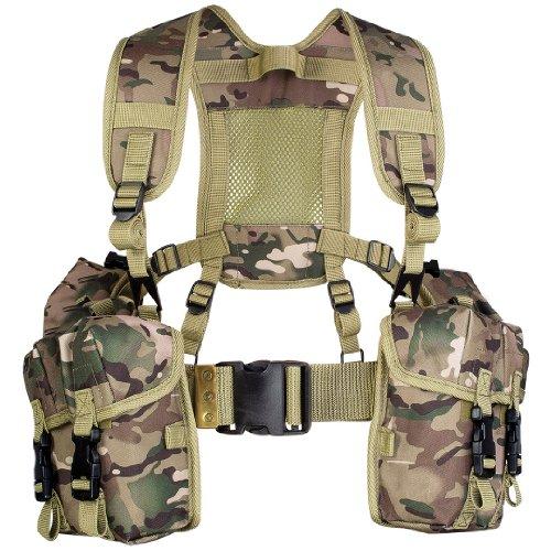 Highlander, Olivengrün Full PLCE-Gurtband Set–Mehrfarbig