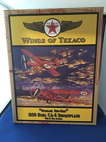 WINGS OF TEXACO 1929 BUHL CA-6 SESQUIPLANE 9TH IN THE SERIES