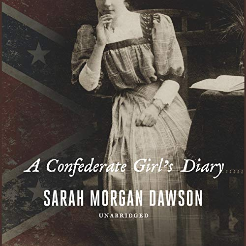 A Confederate Girl's Diary audiobook cover art