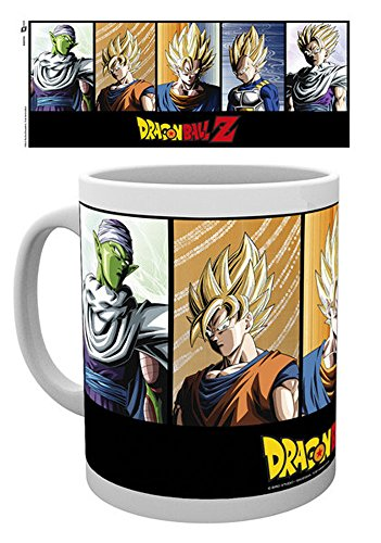empireposter 717078 Dragon Ball Z – Moody – Tasse, diamètre 8,5 cm, Céramique, Multicolore, 12 x 8 x 9,5 cm